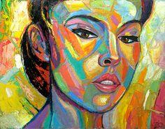 "Saatchi Online Artist Eduard Fleminsky; Painting, ""Beautiful"" #art"