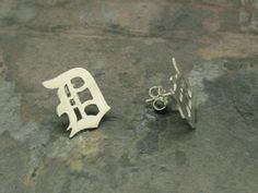 Detroit Stud Earrings by theDcollection on Etsy, $68.00