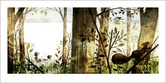 books4yourkids.com: House Held Up By Trees, written by Ted Kooser with illustrations by Jon Klassen