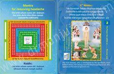 Mantra for removing headache -  Bhaktamar Stotra 2nd Shloka