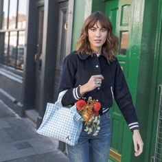 Alexa Chung's style file. Find style, hair and make up inspiration just by looking in the tags. Feel...