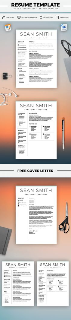 Nurse Resume Template - Nurse Staff - Top Resume Templates - CV - microsoft word resume template free