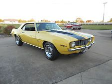 Chevrolet : Camaro Z/28 1969 chevy camaro z 28 302 4 speed loaded like new custom hot rod