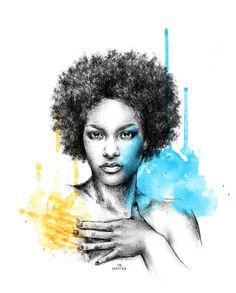 Marynn illustre la culture cosmétique pour loreal paris