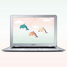 Free Desktop Wallpaper Dolphin Dreaming