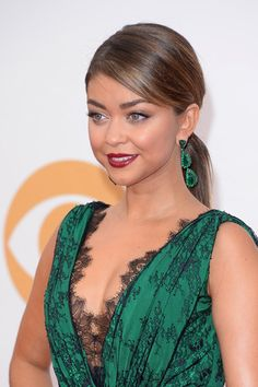 65th Annual Emmy Awards: Modern Family star, Sarah Hyland. Image: Getty.