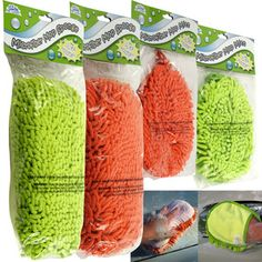 Clean at Last™ Microfiber Washing Tools – Set of 4    Retail Price: $24.99  Yugster Price  $9.97