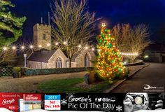 Looking like a good ol' traditional Christmas in St Pierre du Bois #LoveGuernsey  http://chrisgeorgephotography.dphoto.com/#/album/cbc2cr/photo/20535339  Perrys Guide Ref: Page 27 F1 Picture Ref: 14_12_13 — in Guernsey.