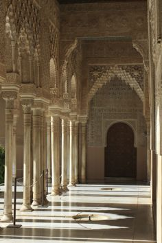 The Alhambra Granada, Spain #travel #europe
