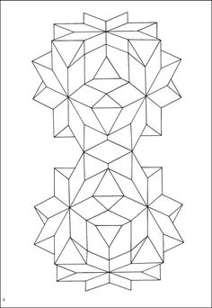 Geometric Star Designs Coloring Book | Additional photo (inside page)