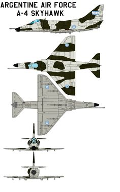 Argentine Air Force Skyhawk The Argentine Air Force (Fuerza Aérea Argentina or FAA) is the national aviation branch of the armed forces of Argentina. Military Jets, Military Aircraft, Brazilian Air Force, Douglas Aircraft, Aircraft Painting, Airplane Art, Aviation Industry, Color Profile, Model Airplanes