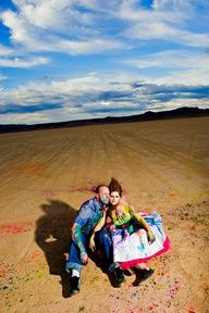 """OMG!!! The boys can do this = )  Paint Balloon """"Trash the Dress""""  //  mike l. photography"""