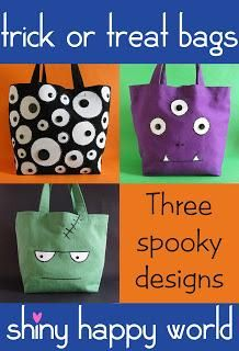 halloween trick or treat bags to make