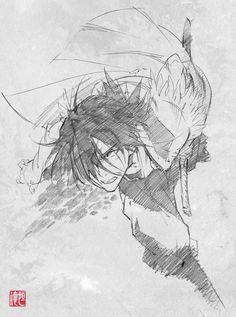 sword of stranger Saito Tsunenori