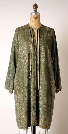 Evening coat  Mariano Fortuny (Spanish, Granada 1871–1949 Venice)