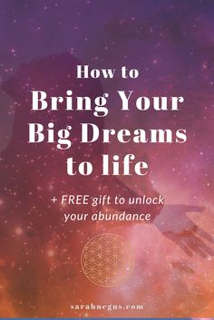 You dream big. You visualise an amazing life. But something isn't working. We've all been there... so, how do you lift your vibration to match the vibration of your dreams and desires? Wayne Dyer coined the phrase 'The Universe doesn't give you what you want, it gives you what you are' Law of attraction, abraham hicks, self care routine, self discovery, follow your dream, bucket list, attracting abundance.
