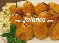 Armut Tatlısı Yapılışı Turkish Kitchen, Food Art, Baked Potato, Sweet Tooth, Food And Drink, Baking, Ethnic Recipes, Desserts, Tailgate Desserts