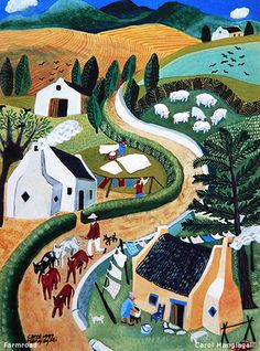 South Africa ~ Carol Mangiagalli ~ Farm Road