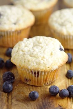 Perfect Blueberry Muffins are easy and delicious! A perfect breakfast recipe that you can make ahead, and even freeze for later. This recipe was handed down through the generations, and let me tell you, it is FABULOUS! Quick Bread Recipes, Cookie Recipes, Dessert Recipes, Desserts, Meatless Recipes, What's For Breakfast, Perfect Breakfast, Breakfast Recipes, Best Blueberry Muffins