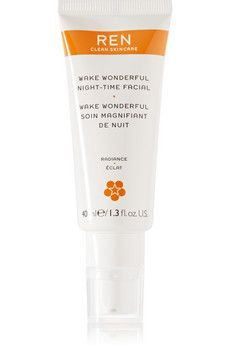 Ren Skincare Wake Wonderful Night-Time Facial, 40ml | NET-A-PORTER