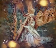 Good Morning Beautiful Images, Cute Good Morning, Good Night Gif, Beautiful Fantasy Art, Beautiful Gif, Angel Gif, Monday Morning Quotes, Angel Warrior, Archangel Gabriel