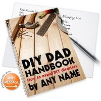 Personalised Notebook - DIY Dad