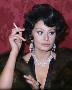 Sophia Loren photo 426 of 899 pics, wallpaper - photo - Love Vintage, Vintage Waves, Vintage Beauty, Vintage Diary, Brigitte Bardot, Sophia Loren Images, Sophia Loren Film, Old Hollywood Stars, Classic Hollywood