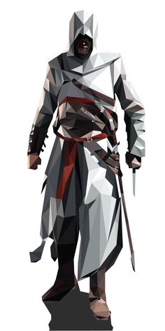 Assassin's Creed in Showcase of Creative Polygonal Artworks