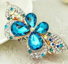 Lovely Vintage Jewelry Crystal Hair Clips Hairpins- For Hair Clip Beauty Tools ** For more information, visit image link.