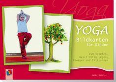 Yoga-Bildkarten für Kinder zum Spielen, Geschichten-Legen, Bewegen und Entspannen ++ Die 30 Bildkarten sind mit bunten Tieren und Naturmotiven auf der einen und den entsprechenden #Asanas (Yogastellungen) auf der anderen Seite illustriert. Das Beiheft erklärt, wie Sie die Karten mit viel Spaß zur #Bewegungsförderung, #Entspannung und sogar #Sprachförderung einsetzen können. #Kita