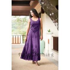 Purple Passion Ena Empire Waist Renaissance Gothic Long Sun Dress 5X - Purple - 5X - Shop by Size - Dresses