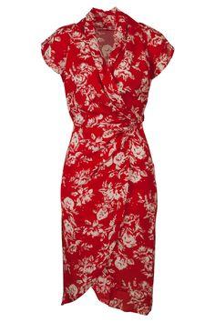 Uttam Fashion Online Deanna Drapey Wrap Dress - Womens Knee Length Dresses - Birdsnest Online Shop