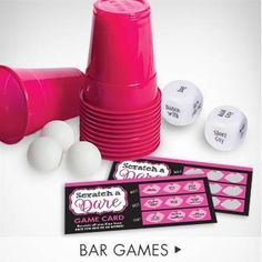 Looking for some daring activities for the bachelorette night? Our selection of bar games are sure to add some wild fun to the night!