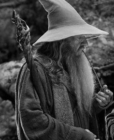 Gandalf (the hermit or the wizard)