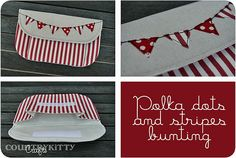 bunting pouch | Handmade by me Pattern by Keyka Lou blogged … | Flickr