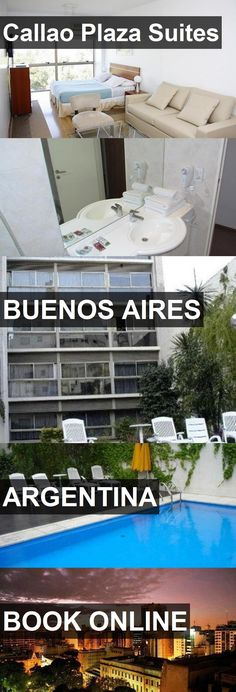 Hotel Callao Plaza Suites in Buenos Aires, Argentina. For more information, photos, reviews and best prices please follow the link. #Argentina #BuenosAires #CallaoPlazaSuites #hotel #travel #vacation