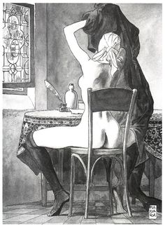 Milo Manara (Italian, B. 1945)
