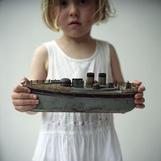 love this idea. Need to start making Kiwi play dress up and hold cool boats.