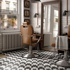 houndstooth floor