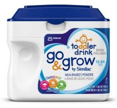Similac Go Grow Stage 3 Milk Based Toddler Drink Powder 22 08 Oz Pack Of 6 Baby Formula Brands, Baby Formula Coupons, Baby Food Recipes, Gourmet Recipes, Soya Drink, Similac Formula, Food Allergies, Drinks, Powder