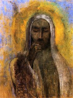 Odilon Redon - Christ in Silence WikiPaintings.org
