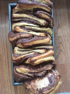 Nutella Pull Apart Bread | the hungry homemaker blog