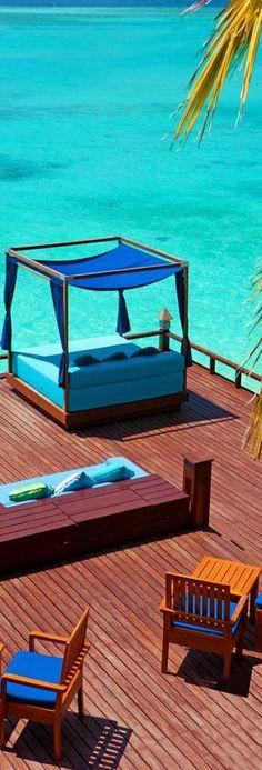Sheraton Resort - Maldives, Indian Ocean.  ASPEN CREEK TRAVEL - karen@aspencreektravel.com