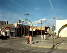 Stephen Shore, Broad Street, Regina, Saskatchewan, August 17, 1974 (printed 2014)