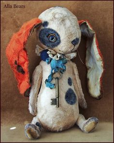 How could ANYONE resist this adorable plush bunny? It's another gem from…