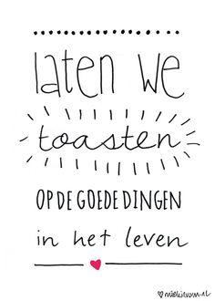 Let's make a toast ☆ #dutch