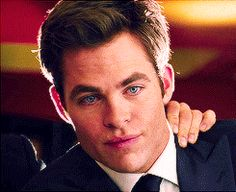 Chris Pine as FDR | Related Pictures chris pine this means war gif cristiano ronaldo hot ...