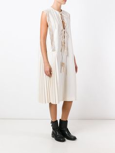 Veronique Branquinho lace up dress