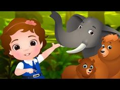 Going To the Forest | Wild Animals for Kids | Original Learning Songs & Nursery Rhymes by ChuChu TV - YouTube