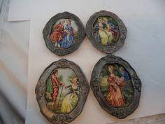 Miniatur Bilder Malerei Porzellan